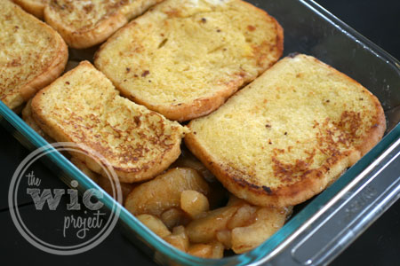 French Toast Topping