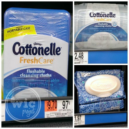 Cottonelle Fresh Care Wipse