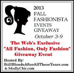 Fall Fashionista Giveaway