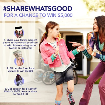 Welch's Share What's Good Photo Contest