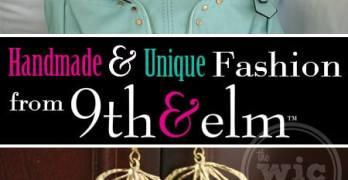 Unique, Handmade Fashion Awesomeness from 9thandElm.com #9thandElmIntro