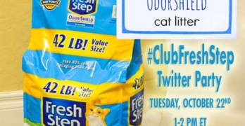 Save the Date: #ClubFreshStep Twitter Party – 10/22, 1-2PM EST – $500 in Prizes! RSVP Now!