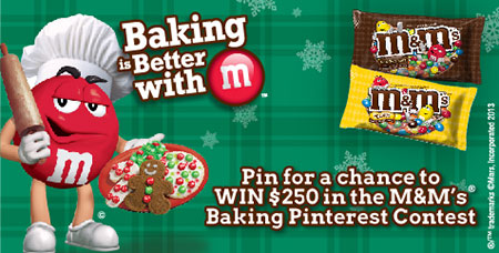 Baking is Better with M Pinterest Sweepstakes