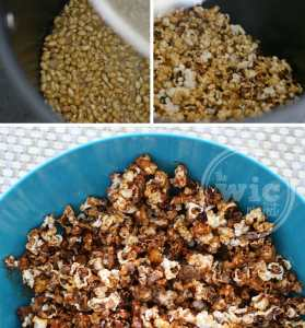 Cooking Kettle Corn