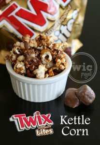 Twix Bites Kettle Corn