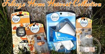 Ease into Fall Scents with Febreze Home Harvest Collection #FebrezeFall