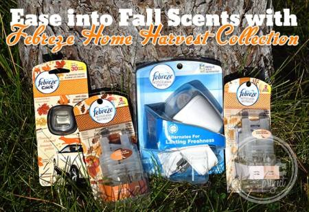 Ease into Fall with Febreze Home Harvest Collection