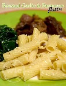 Roasted Garlic and Parmesan Pasta Recipe Pasta Fits