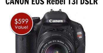 CANON EOS Rebel T3i DSLR Giveaway