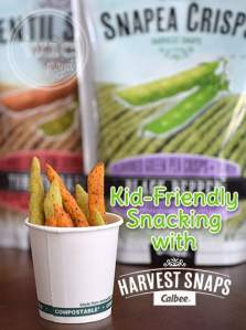 Kid Friendly Snacking with Harvest Snaps