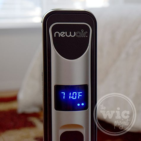 NewAir AH-470 Space Heater Review - Slim Design