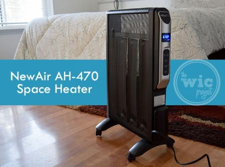 NewAir AH-470 Space heater Review