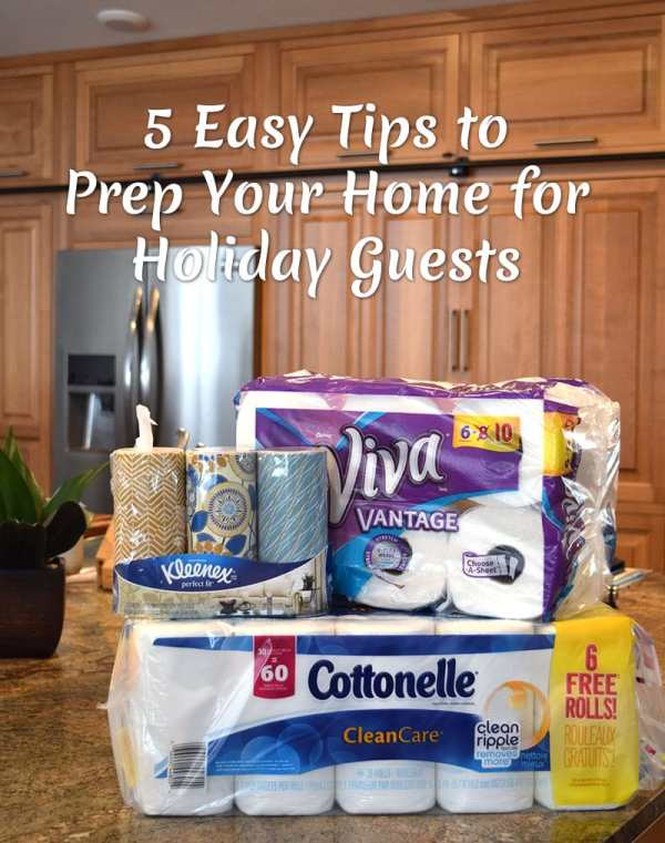 5 Easy Tips to Prep Your Home for Holiday Guests