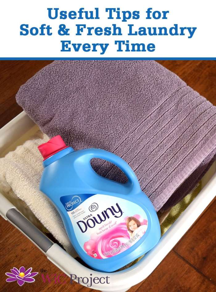 Ultra Downy Fabric ConditionerUseful TIps for Soft & Fresh Laundry Every Time