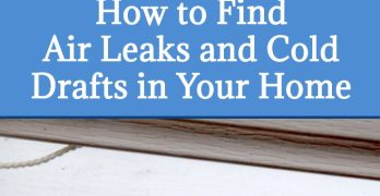 How to Find Air Leaks in Your Home with BlindSpotz Cold Spot Sensors