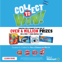 Collect To Win with RITZ, OREO & Chips Ahoy! #CollectAtWalmart