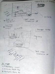 Design sketch: OUTRO