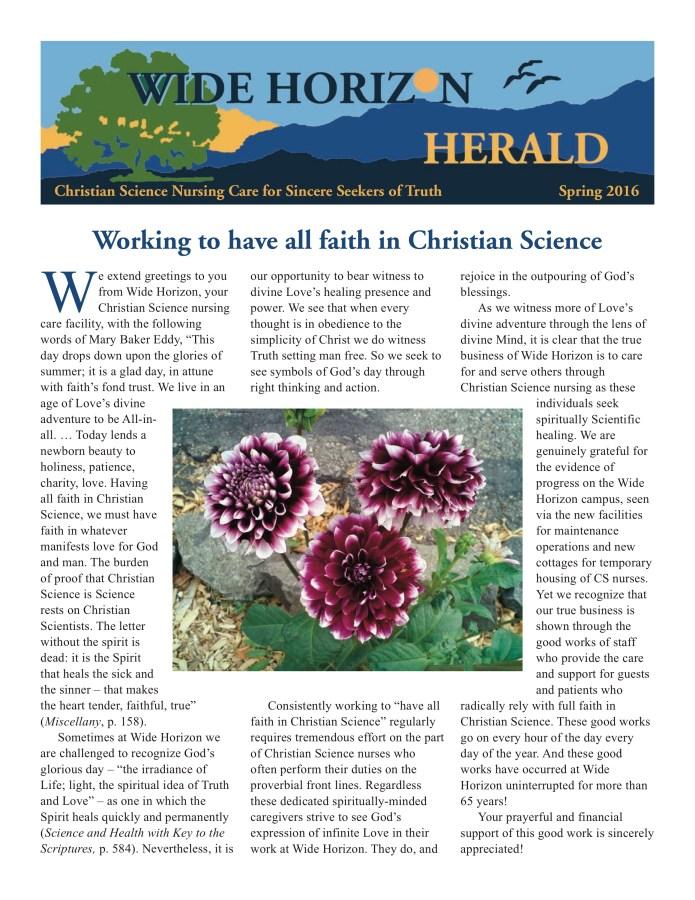 2016 Spring Wide Horizon Herald News Web