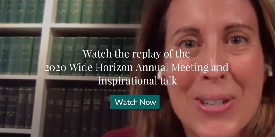Watch the Replay of the 2020 Annual Meeting