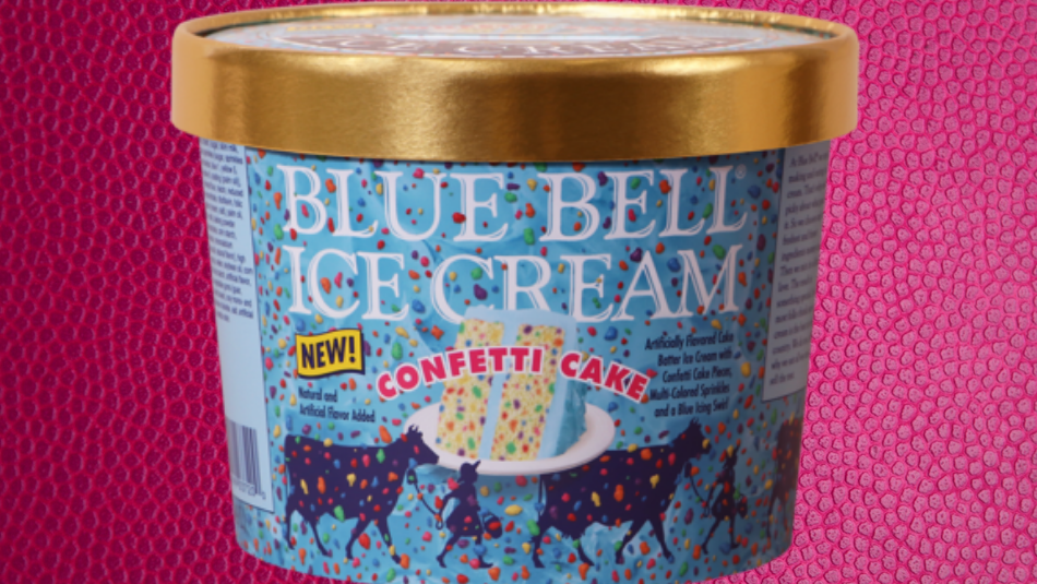 New Blue Bell Confetti Cake Ice Cream Is Now On Shelves