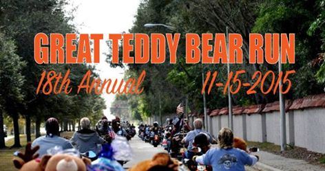 Sarasota Florida 18th Annual Great Teddy Bear Run Nov. 15, 2015