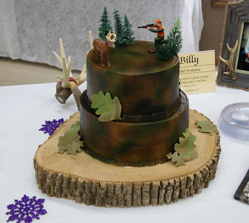 10 Awesome Hunting Wedding Cakes Wide Open Spaces