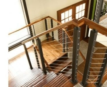 Design Ideas For Stairs To Match Your Custom Hardwood Floors | Wood Floors And Stairs | Beautiful | Wood Plank | Oak | House | Wood Flooring