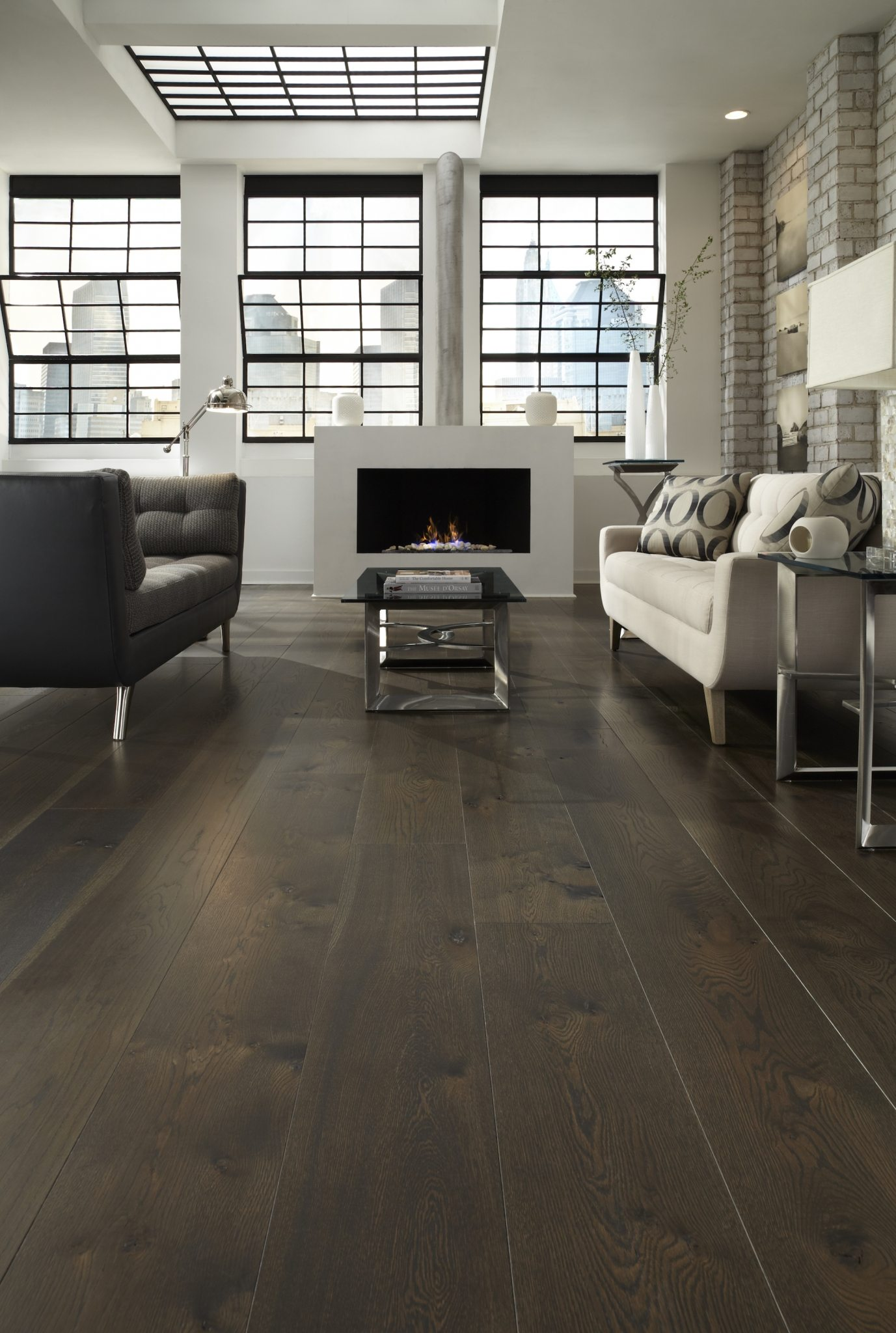 Plank Flooring Wide Walnut