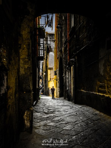 Alleyway in Naples