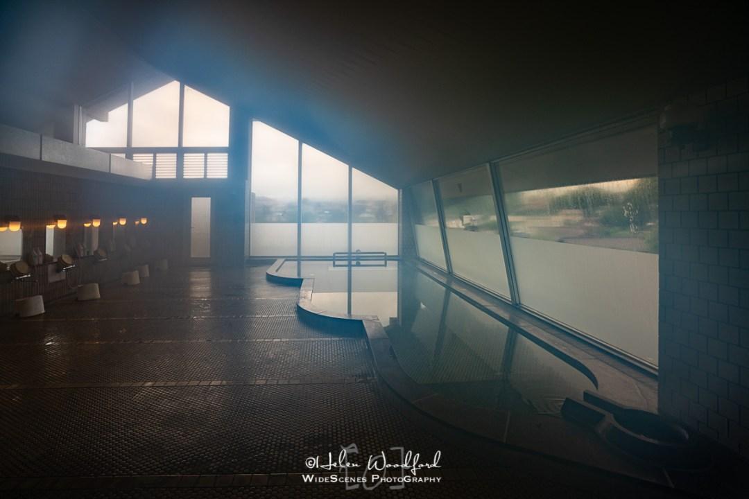 Onsen at Lake Kawaguchiko Hotel, Fuji Five Lakes
