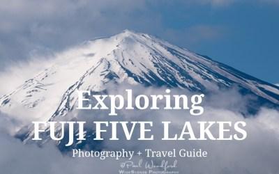 Exploring Fuji Five Lakes