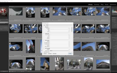 Adding a Copyright Preset in Adobe Lightroom