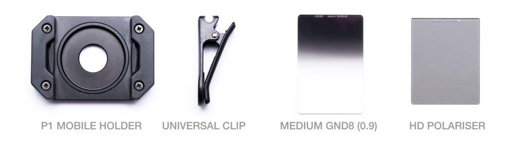 NiSi P1 Prosories Mobile Phone Filter Kit