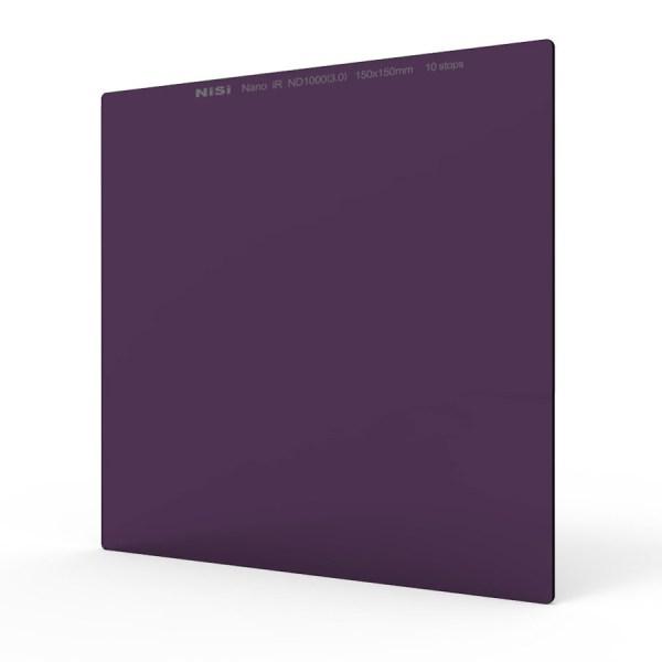 Nisi 150x150mm Nano IR Neutral Density filter – ND1000 (3.0) – 10 Stop