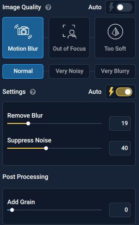Topaz Sharpen 3.02 Interface
