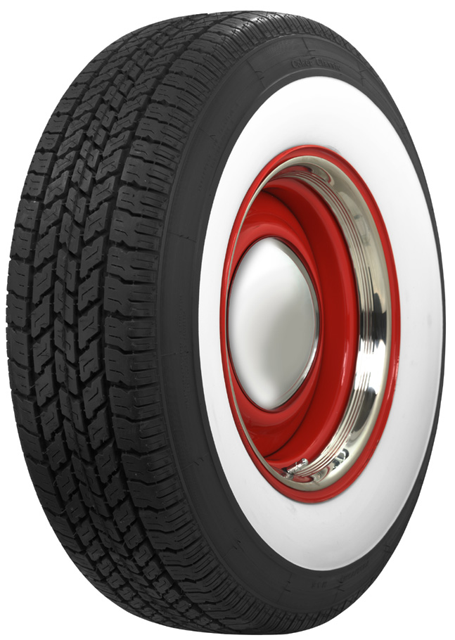 1 Inch Wall Wide Tires White