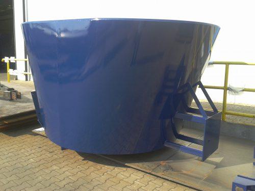 Carro mezclador cesta