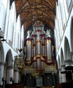 Organ in de Grote Kerk, Haarlem