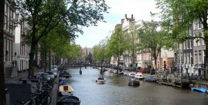 Another typical view of Amsterdam, city of canals
