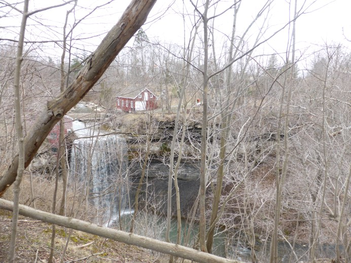 Falls #3 - by an old mill. Sorry, forgot this one too.