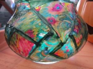 Glas Schritt 06