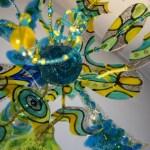 gelb-blaue Lichtblume