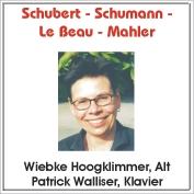 Cover Schubert-Schumann-Le Beau-Mahler
