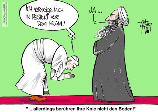 https://i2.wp.com/www.wiedenroth-karikatur.de/KariAblage0905/PK090508_PapstIslamNahostreiseRespektbekundung.jpg