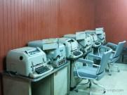 Schreibmaschinen im Bunker
