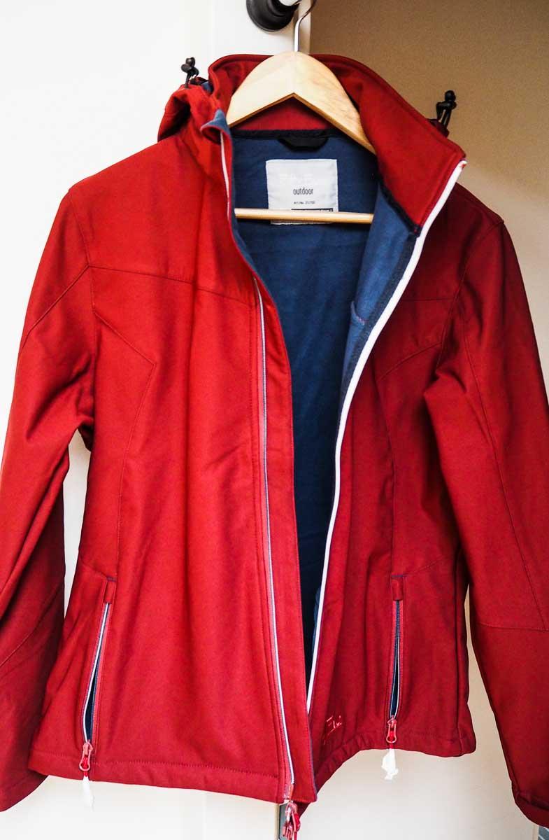 Merlot-Farbene Jacke