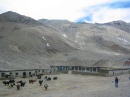 Absteige beim Everest Basislager in Tibet - bei Rongbuk.
