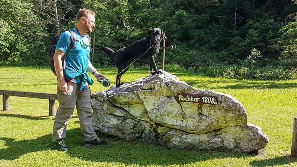 Stein Hund Hochkar Mendlingtal