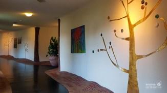 Hotelambiente à la Hundertwasser
