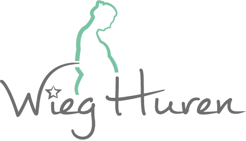 Logo wieg huren watermerk